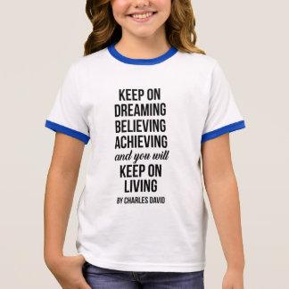 Keep On Ringer T-Shirt