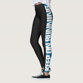 """Keep On Running"" Pick The Colour Side Stripe Leggings"