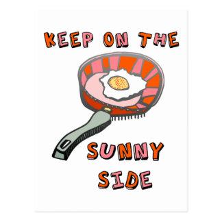 Keep on the Sunny Side Postcard