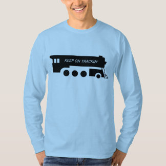 Keep on Trackin' By Train T-Shirt