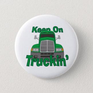 Keep on Truckin' 2 Inch Round Button