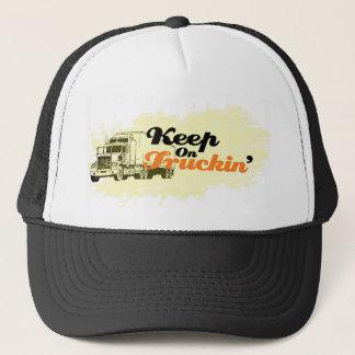 Keep On Truckin' hat