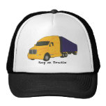 Keep on Truckin', tractor trailer truck on hats