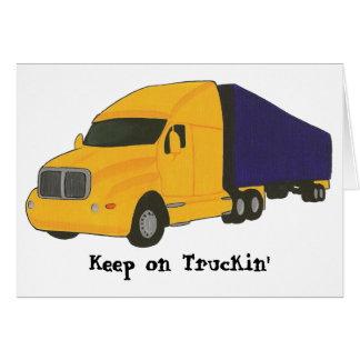 Keep on Truckin', truck on greeting cards