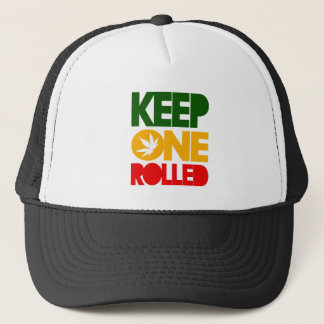 Keep one rolled - harshly Rasta Reggae - Trucker Trucker Hat