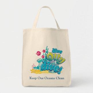 Keep Our Oceans Clean Tote Bag