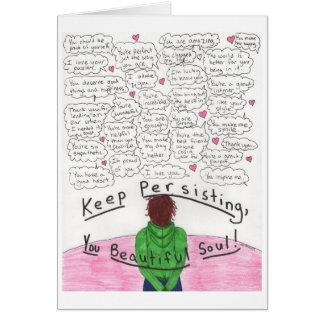 Keep Persisting Card