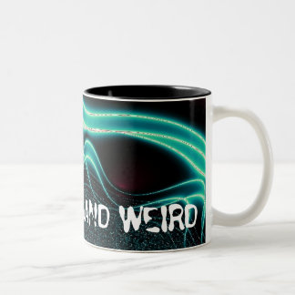 """Keep Portland Weird""--Mug Two-Tone Coffee Mug"