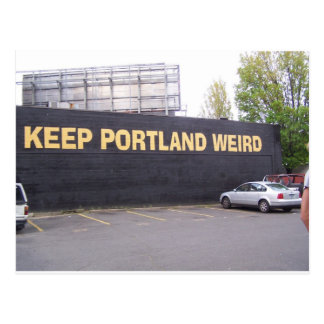 Keep Portland Weird Postcard