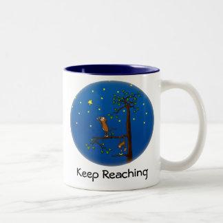 Keep Reaching Monkey Mug