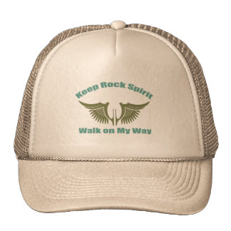 Keep Rock Spirit (Walk ON My Way) Trucker Hat