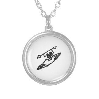Keep Rollin Silver Plated Necklace