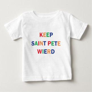 Keep Saint Pete Weird Design Baby T-Shirt
