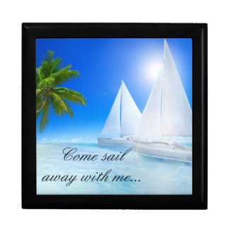 Keep Sake/Gift Box/Beach with Quote Gift Boxes