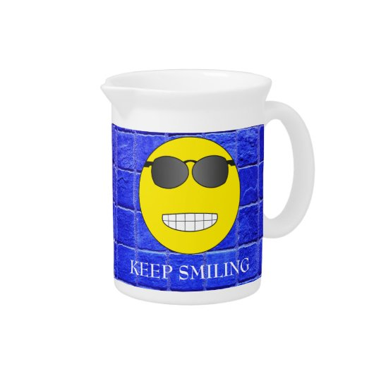 Keep Smiling Beverage Pitchers