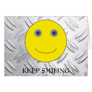 Keep Smiling Card