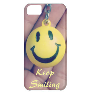Keep Smiling Case For iPhone 5C