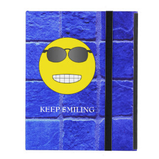 Keep Smiling iPad Cover