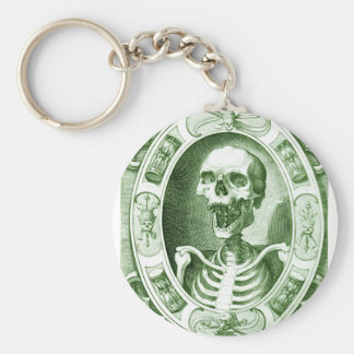 keep smiling your are not dead yet basic round button keychain