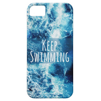 Keep Swimming Ocean Motivational iPhone 5 Case