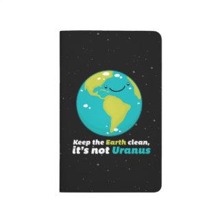 Keep The Earth Clean Journal