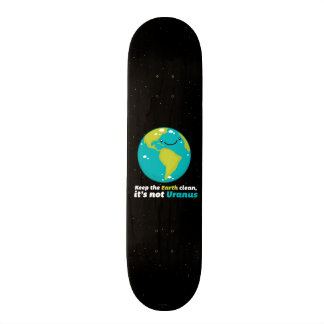 Keep The Earth Clean Skateboards