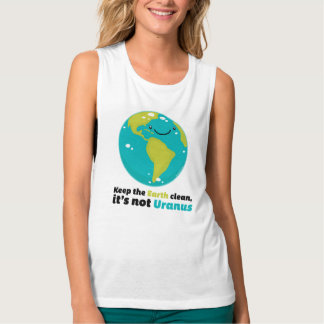 Keep The Earth Clean Tank Top