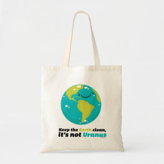Keep The Earth Clean Tote Bag