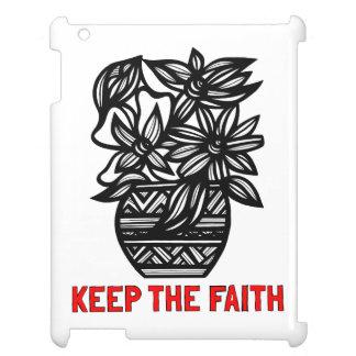 """""""Keep the Faith"""" 631 Art iPad Case"""