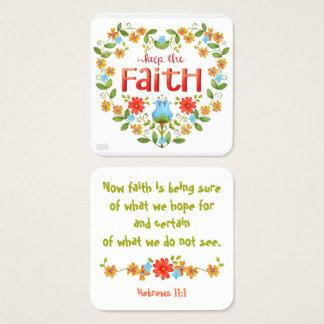 Keep the Faith • Business • Mommy • Bible Card