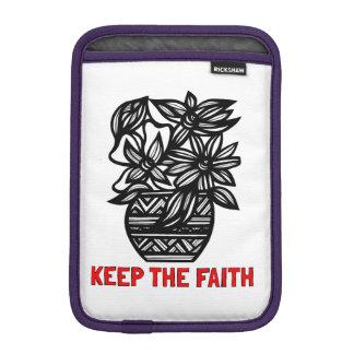 """""""Keep the Faith"""" iPad Mini Soft Case"""