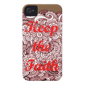 Keep the Faith iPhone 4 Case-Mate Cases