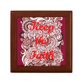 Keep the Faith Jewelry Boxes