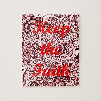 Keep the Faith Jigsaw Puzzle