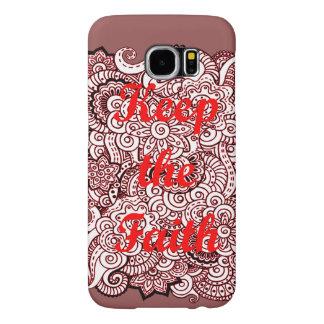 Keep the Faith Samsung Galaxy S6 Cases
