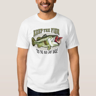 Keep the Fish by Mudge Studios T Shirt
