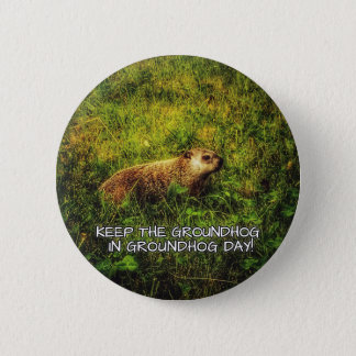 Keep the Groundhog in Groundhog Day button