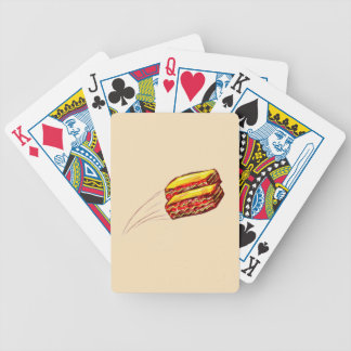 keep the Lasagna Flying Playing Cards