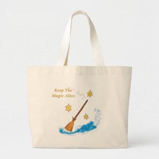 Keep The  Magic Alive beach Bag