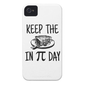 Keep The Pie in Pi Day iPhone 4 Covers