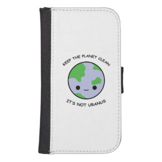 Keep the planet safe samsung s4 wallet case