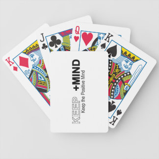 Keep The Positive Mind Poker Deck