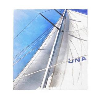 Keep The Wind In Your Sails Notepad