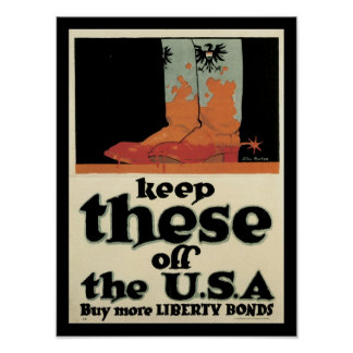 Keep these off the USA Poster