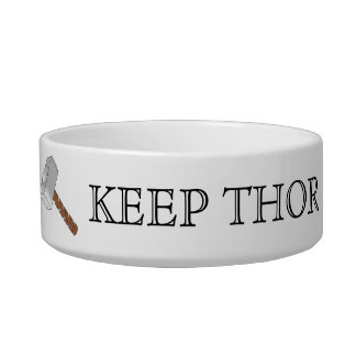 Keep Thor in Thorsday! Pet Bowl
