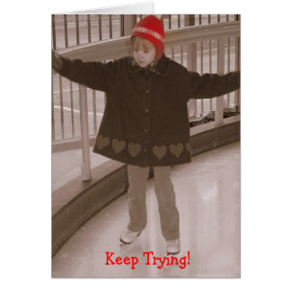 Keep Trying Card