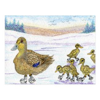 Keep up, you lot! postcard
