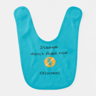 Keep your baby safe from Gluten with this bib! Baby Bibs
