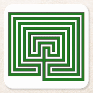 Keep Your Drink in the Labyrinth - Square Coaster