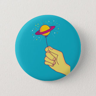 Keep your hopes up! 2 inch round button